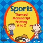 Sports Theme Manuscript Printing