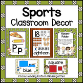 Sports Themed Classroom Poster Bundle