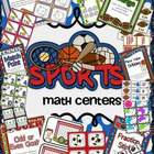 Sports Themed Math Centers Unit