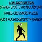 Sports Vocabulary Lists, Activities, Crossword, Games, and