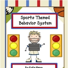 Sports theme stoplight behavior management system