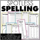 Spotless Spelling {in 2nd Grade}