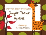 """Spotted: Great Students""- Jungle Theme Awards"