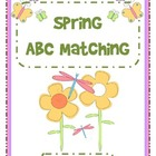 Spring ABC Matching - Uppercase and Lowercase