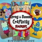 Spring And Summer Craftivities *TEMPLATES*