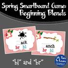 "Spring Beginning Blends: ""bl"" and ""br"" Game for Smartboard"