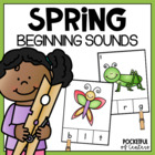 Spring Beginning Sounds Match