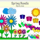 Spring Bundle Clip Art {Graphics for Commercial & Personal Use}