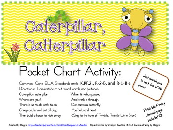 Caterpillar, Caterpillar song