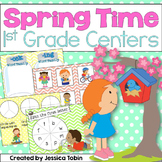 Spring Centers- First Grade Friendly