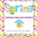 Spring Literacy Centers and Activities
