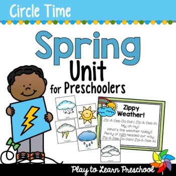 Spring - Centers and Circle Time Preschool Unit
