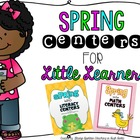 Spring Centers for Little Learners Bundle