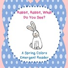 Spring Colors Emergent Reader {FREEBIE!}