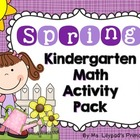 Spring Common Core Math Centers & Activities for Kindergarten