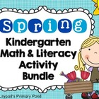 Spring Common Core Math and Literacy Centers & Activities