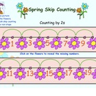 Spring Counting for Kinders Freebie (Interactive SMARTboard File)