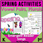 Spring (ELA Plurals/Water Cycle) ~ Kindergarten