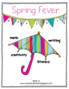 Spring Fever {Math, Literacy & Writing}