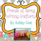 Spring Friends Writing Craftivity