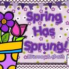 Spring Has Sprung: Literacy & Math Pack