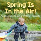 Spring Is in the Air!- Umbrella Glyph and Writing Activities