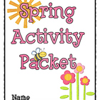 Spring Language Arts Activity Packet - new and improved!