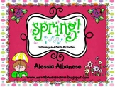 Spring! Literacy and Math Activities