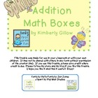 Spring Math Boxes (Freebie)