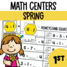 Spring Math Center Fun