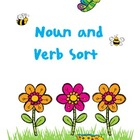 Spring Noun and Verb Sort