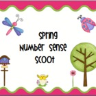 Spring Number Sense Scoot