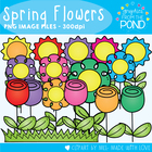 Spring Pack 1 - Graphics for Teaching Files and Resources