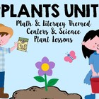 Spring Plants & Flowers Literacy, Math, and Science Centers Unit