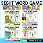 Spring Sight Word Games-The Big Pack