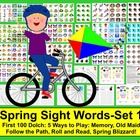 Spring Sight Words Literacy Center Activities: 5 Ways to P