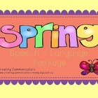 Spring Speech & Language Package