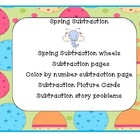Spring Subtraction Activities