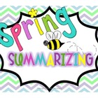 Spring Summarizing Sort {Fiction and Nonfiction}