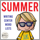 Spring & Summer Writing Centre/Center Pages