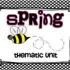Spring Thematic Literacy & Math Activities