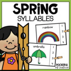 Spring Words Syllable Count