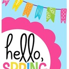 Spring Writing Activities {and a Rainy Day Craft!}