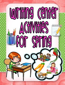 Spring Writing Center Activities
