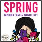 Spring Writing Centre/Center Pages