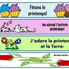 Spring bookmarks – les signets de printemps