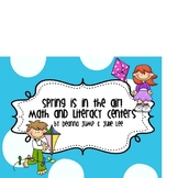 Spring is in the Air  Math and Literacy Centers for Common Core