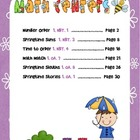 Springtime Common Core Math Centers