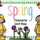 Springtime Unit Plan