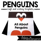 Square Penguin {shape craft}